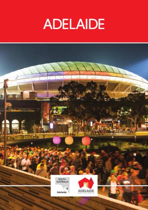 Adealide City Tourism Brochure