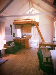 cottage loft view